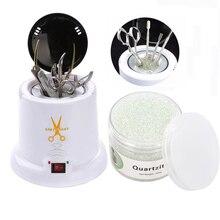 Стерилизатор температуры, коробка, стеклянный шар, дезинфекционная машина, инструмент для маникюра, дизайна ногтей, дезинфекция для здоровья