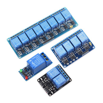 цена на 24V relay 1 2 4 6 8-channel relay module relay output 1 2 4 6  8-channel relay module
