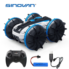 Sinovan Water & Land 2 IN 1 Remote Control Car 360° Rotate RC Cars 2.4G 4CH RC Drift Car 1:20 Buggy Stunt Car Waterproof RC Toys