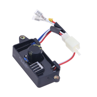 Automatic Electric Voltage Rectifier Regulator For Single Phase 2KW-3KW Chinese Gasoline Generator Spare Parts AVR 110*38*35mm 1