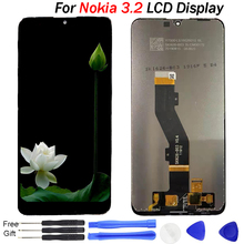 For Nokia 3.2 LCD Display Touch Screen Digitizer Assembly tested 6.26 inch LCD For NOKIA 3.2 TA-1156 TA-1159 TA-1164 Display