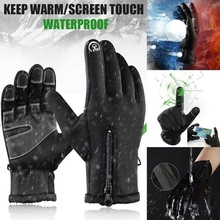 Touch-Screen-Gloves Motorcycle Outdoor Fleece Riding Skiing Warm Sports Winter Unisex