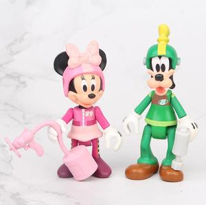 Image 5 - 7 יח\סט מירוץ מיקי פעולה דמויות צעצועי Brinquedo צעצוע ילדה ילד מתנה לחג המולד 7 10cm