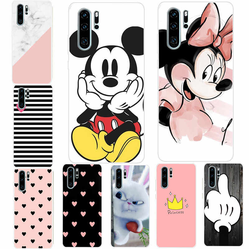 Soft Silicone TPU Cover For Huawei P Smart 2019 Case Luxury Phone Cover For Huawei P8 P9 Lite Mate 20 P10 P30 P20 lite Pro Coque