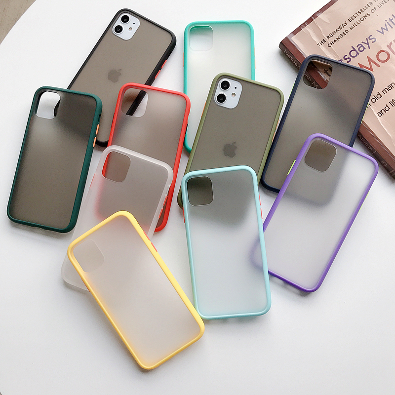Mint Hybrid Case for iPhone SE (2020) 48