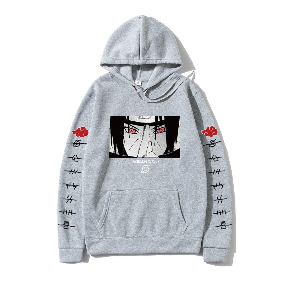 Hot Fashion Hoodies Japanese Anime Streetwear itachi pullover Sweatshirt Men Casual Autumn Winter Hip Hop Hoodie pullover 3