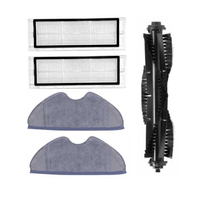 Details about  /For 360 S5 S7 Robot Vacuum Cleaner Parts Main Side Brush Filter Mop Cloth Kit