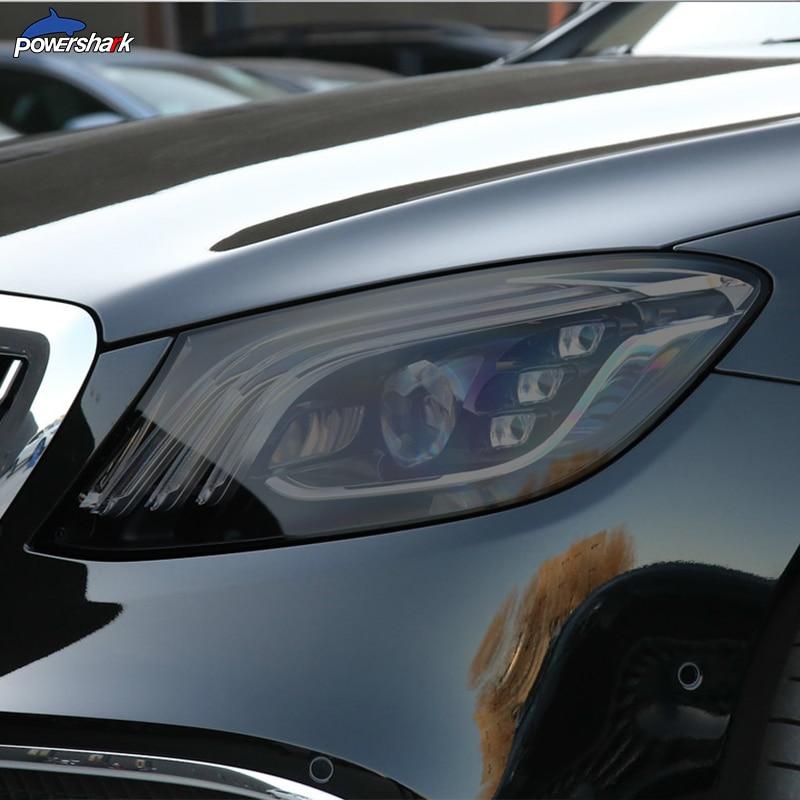 Автомобильная фара оттенок Черная защитная пленка задний фонарь прозрачный ТПУ стикер для Mercedes Benz Maybach S Class W222 S500 S650 AMG|Наклейки на автомобиль|   | АлиЭкспресс