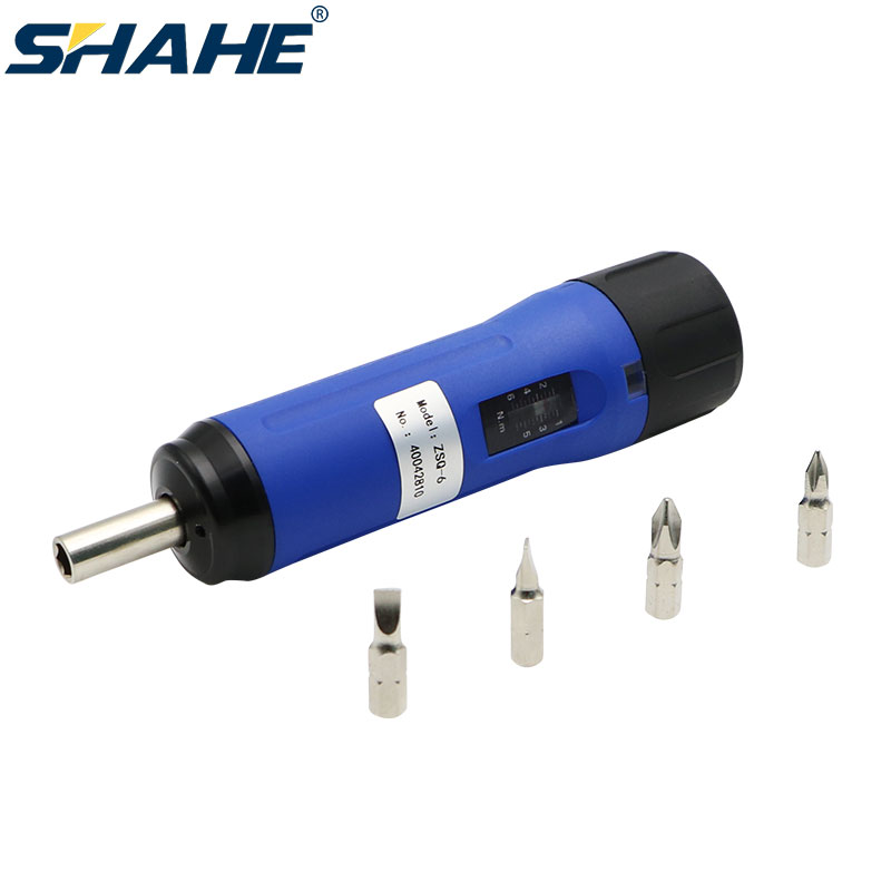 SHAHE ZSQ Preset Torque Screwdriver Adjustable torque wrench High Quality Wrench Hand Tools