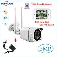 Outdoor 3G 4G SIM Card Camera Full HD 1080P Wireless Wifi IP Camera Bullet Waterproof CCTV IR Night Vision P2P SD Card Security