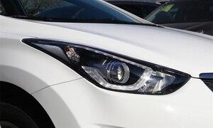 Image 3 - רכב פנס עדשה עבור יונדאי Elantra 2012 2013 2014 2015 2016 פנס עדשת החלפת רכב אוטומטי מעטפת כיסוי