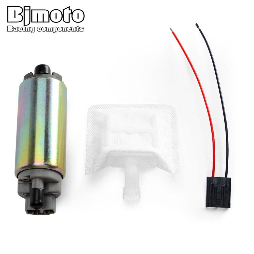 15110-14G00 15100-40H00 New 12V Electric Fuel Pump For Suzuki AN250 <font><b>AN400</b></font> AN 400 Burgman VL1500 15110-48G00 For Motorcycle ATV image