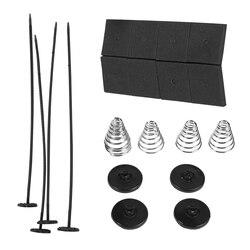 1 Set Auto Car Universal Electric Radiator Fan Ventilador Mounting Kit Plastic Ties 4 Straps 8 Cushion Pads 4 Mounting Fee