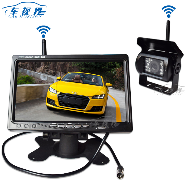 7 inch Wireless Monitor for Bus truck wireless receiver Camera with wifi
