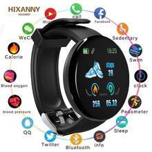 D18 Smart Watch Sleep Tracker Heart Rate Tracke Men Women Blood Pressure Sport Smartwatch Oxygen Sports