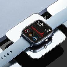P8 tela de toque completa relógios inteligentes das mulheres dos homens ip67 à prova dip67 água pulseira esporte relógio freqüência cardíaca fitness smartwatch para ios android
