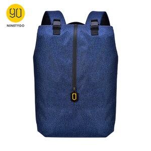 Image 1 - NINETYGO 90FUN حقائب لأوقات الترفيه 14 بوصة حقيبة لابتوب الرياضة في الهواء الطلق Daypack خفيفة الوزن مقاوم للماء الرجال النساء حقائب سعة كبيرة
