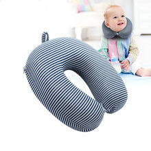 Pillow Kids Newbron Travel Neck Pillow U-Shape For Car Headrest Air Cushion Child Children Car Seat Head Support Infant Baby(China)
