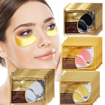 5/8/10/15Pairs Gel Patch for Eye Mask Bags Remove Dark Circles Collagen Patches Under the Eyes Skin Care Moisturizing Anti Aging 24k gold collagen eye mask eye patches eye mask for face care dark circles remove gel mask for the eyes ageless