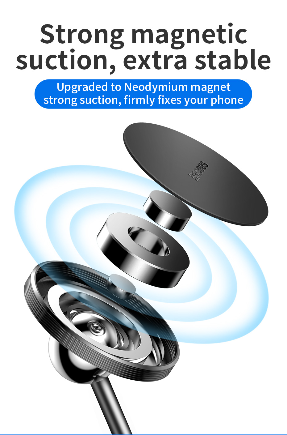 360 ° rotação 3d suporte do carro