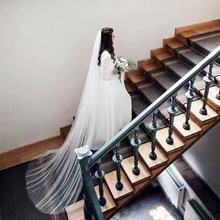 Новое поступление белого цвета и слоновой кости 3 м свадебная