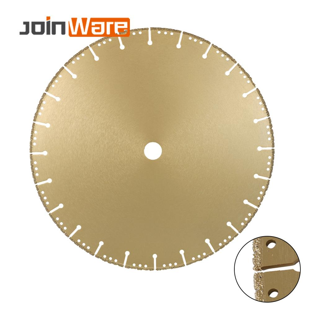 DIATOOL 1pc 350mm Vacuum Brazed Diamond Blade For All Purpose 14 Demolition Blade For Stone Iron Steel - 3
