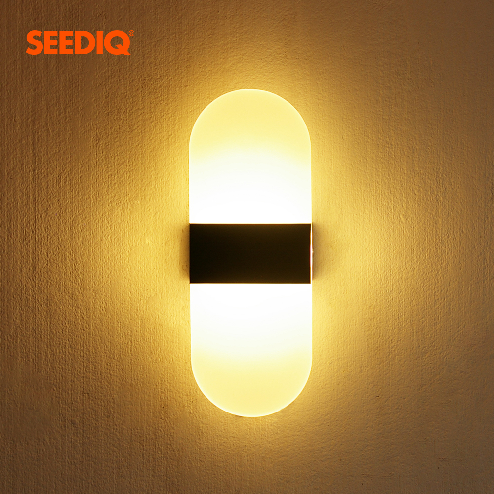 LED Wall light indoor Wall Sconce lamp for Living room Bedroom Dinning room Acrylic Decor Wall Light Fixture Modern Wall Lamps