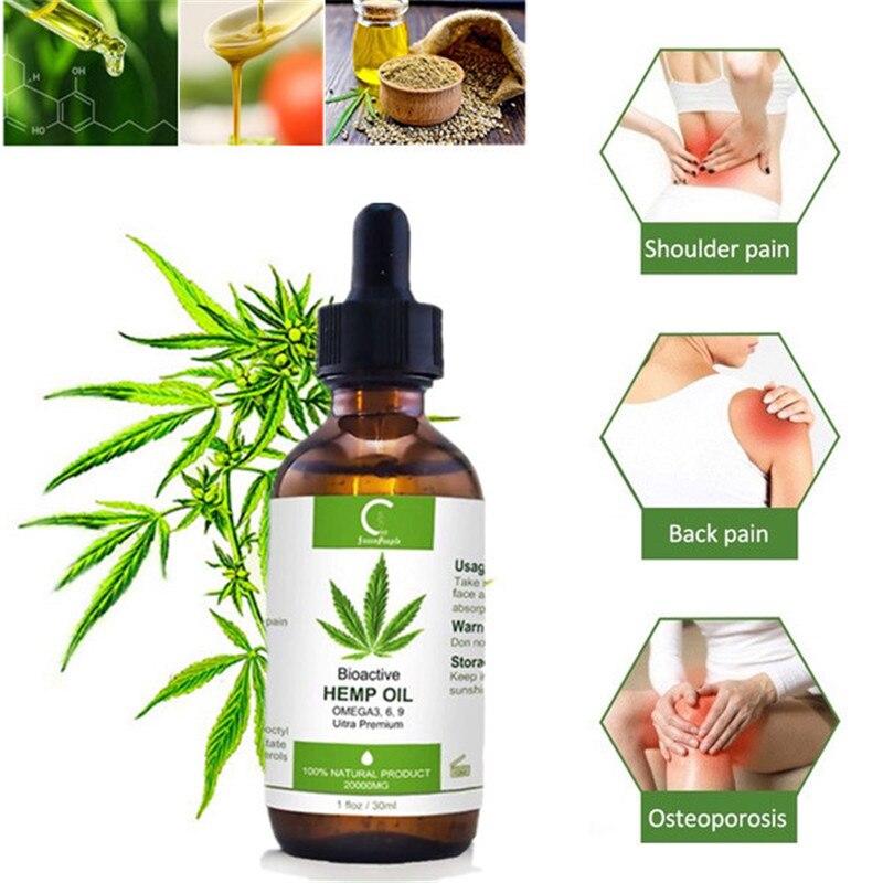 GPGP Greenpeople 30ml aceite orgánico de cáñamo CBD para el dolor de cuello ayuda a dormir aceites de piel semillas de cáñamo aceite para el alivio del dolor aliviar el estrés|Aceite esencial|   - AliExpress