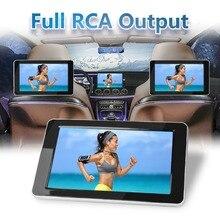 9 pouces TFT couleur LCD appuie tête DVD moniteurs 1024x600 HD entrée Radio AV moniteur pour caméra de recul voiture audio DVD lecteur