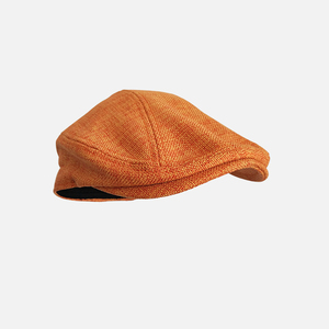 Double Wearing Style Men Hats Berets British Western Style Ivy Cap Classic Woman Vintage Cotton And Linen Beret BLM211(China)