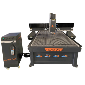 China Top Quality Alpha 1325 CNC Router 4X8 3 Axis Wood CNC Router Prices Wood CNC  Milling Carving Machine mini cnc router 6012 small cnc milling machine router cnc wood acrylic stone metal aluminum with mach 3 controller