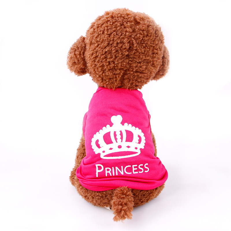 Dog Clothes For Small Dogs XS-L Chihuahua Winter Clothes Clothing For Dog Vest Girl Princess Puppy Dog Coat Pet Clothes