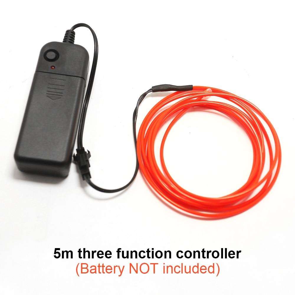 Гибкий неоновый провод для автомобилем 2