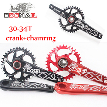 SNAIL GXP 30/32/34t MTB Road Bike CNC Chainset 170mm Crank BB Chainwheel Chainring Aluminum alloy Crankset For GXP XX1 X9 XO X01 цены онлайн