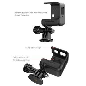 Image 4 - Insta360 واحد R الإفراج السريع الإطار Vlog قفص بانورامية 4K لايكا كاميرا حماية الحال بالنسبة Insta360 واحد R كاميرات الملحقات