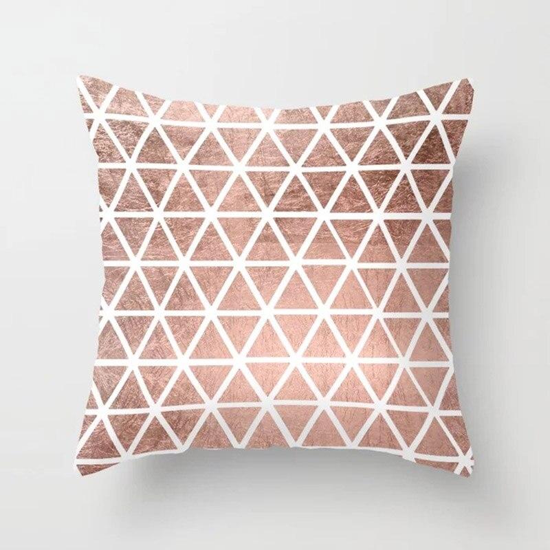 H5d18b6f608cd4a3ea5193caa05a3b3e6z New 1PC Popular Cushion Case Geometric Tropic Pineapple Nordic Sofa Pink Pillow Decorative