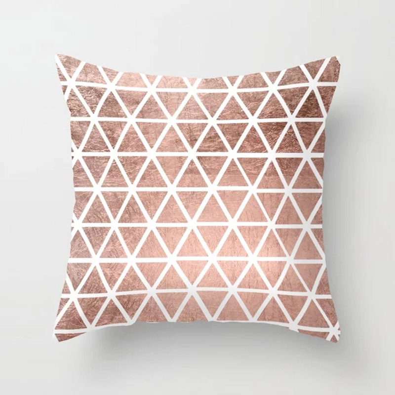 New 1PC Popular Cushion Case Geometric Tropic Pineapple Nordic Sofa Pink Pillow Decorative New 1PC Popular Cushion Case Geometric Tropic Pineapple Nordic Sofa Pink Pillow Decorative