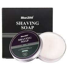 100g Men's Shaving Cream Mint Sandalwood Care Foam Safe Non-irritating Shaving Soap