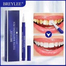 BREYLEE – stylo de blanchiment des dents, Essence d'hygiène buccale, soins dentaires, élimine la Plaque, les taches, sérum dentaire avec bouton poussoir, 3ml