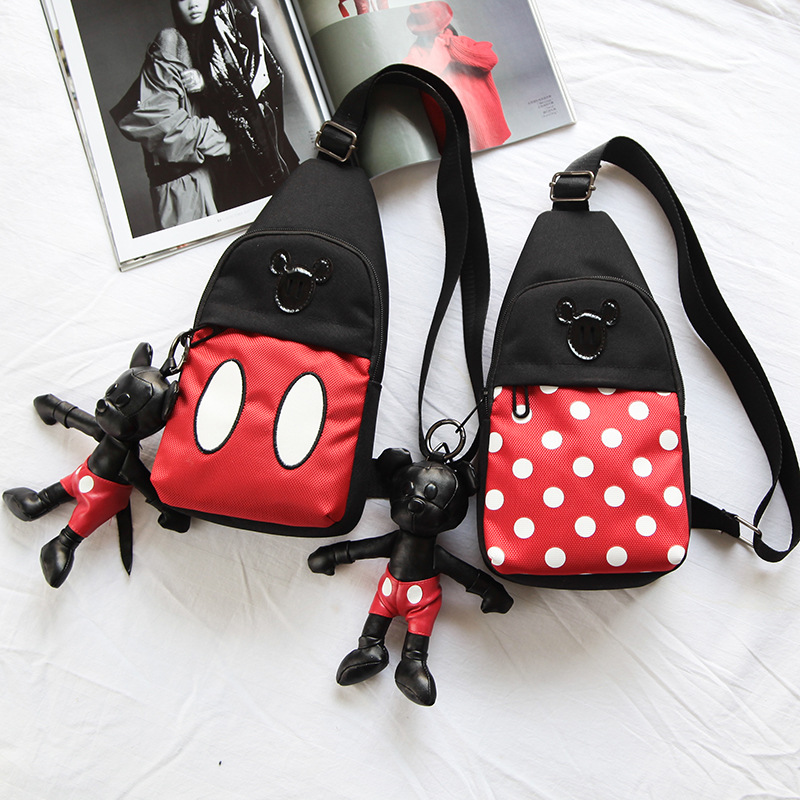 Cartoon Children Chest Pack Parent And Child-Crossbody Bag Men And Women Baby Fashion Casual Change Snack Pack Children