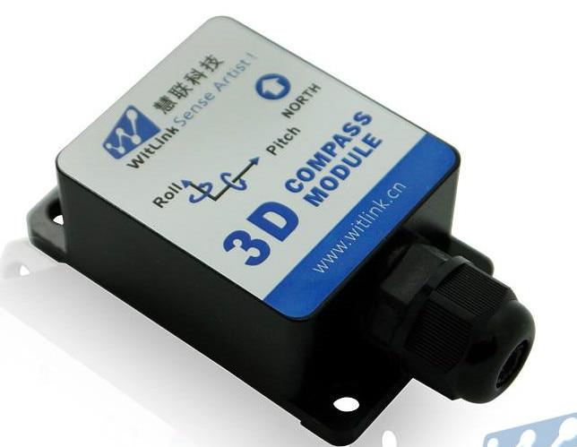 HEC295 Dynamic 9 - Axis 3D Electronic Compass Gyro Attitude Indicator Sensor