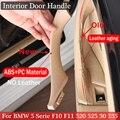 Новая внутренняя дверь подлокотник панель ручка седан тянуть Накладка для BMW 5 serie F10 F11 520i 525d 535i 550i 523i 51417225853