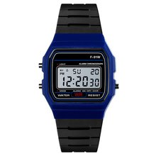 Fashion Unisex Silicone Waterproof Electronic Watch Digital