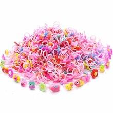 10pcs/lot Children's Cartoon Disney Frozen Princess Rings Candy Animal Bow Shape Ring Set Mix Girl Jewellery Rings Kid Toy Gift