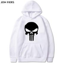 2019 Hoodies Men Movie Punisher Brand Male Hoodie Printed Sweatshirt Mens Moletom Masculino Slim Tracksuit