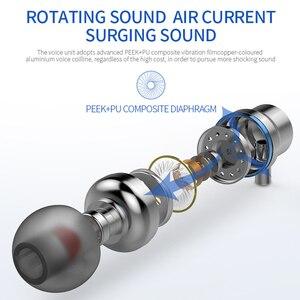Image 5 - TOPK F16 سماعات مع المدمج في MicrophoneType C في الأذن السلكية سماعة آيفون شاومي سامسونج الهاتف