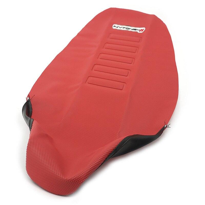 Rubber 785mm Gripper Soft Seat Cover saddle cushion skin Non-slip Waterproof For For Kawasaki KXF250 Honda CRF 250 450