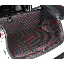 lsrtw2017 fiber leather car trunk mat for mitsubishi eclipse cross 2017 2018 2019 2020