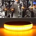 Vehemo Turn Signal Light Warning Light LED Shock Absorber Motorbike Signal Lamp Universal Motorcycle|  -