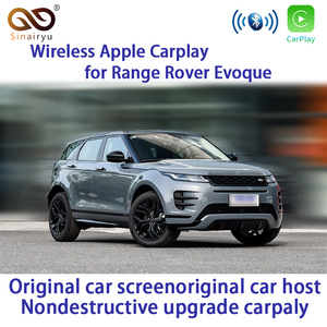 Sinairyu беспроводная Apple Carplay для Land Rover Range Rover Evoque 2013-2017 Проводная Автомобильная зеркальная USB-вспышка на базе Android iOS13 Carplay